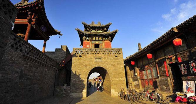 Pingyao ancient back streets in Luxury China Travel
