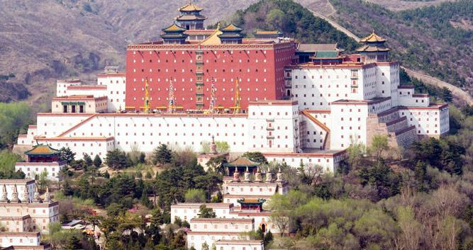 Putuo Zongcheng Temple, Chengde in Luxury China Travel