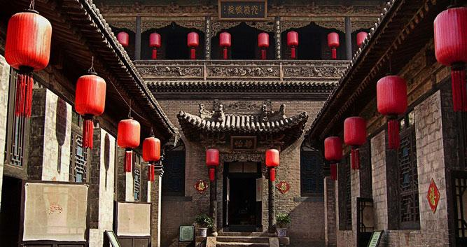 Red lanterns in Pingyao in China Luxury Travel