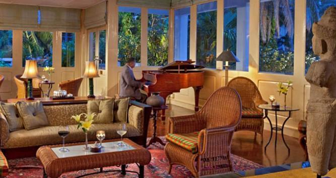 Conservatory, Raffles Grand Hotel d'Angkor, Siem Reap