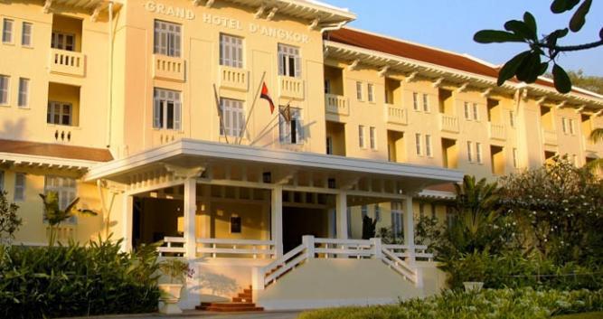 Exterior, Raffles Hotel d'Angkor, Siem Reap
