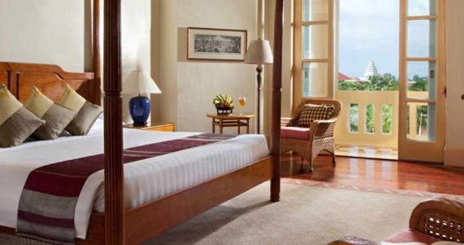 Landmark room, Raffles Grand Hotel d'Angkor, Siem Reap