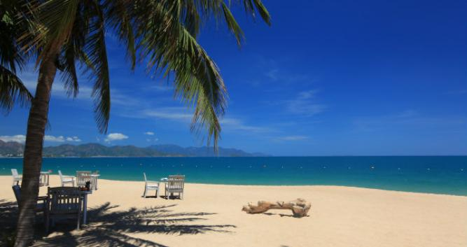 Resort private beach, Evason Ana Mandara, Nha Trang, Vietnam