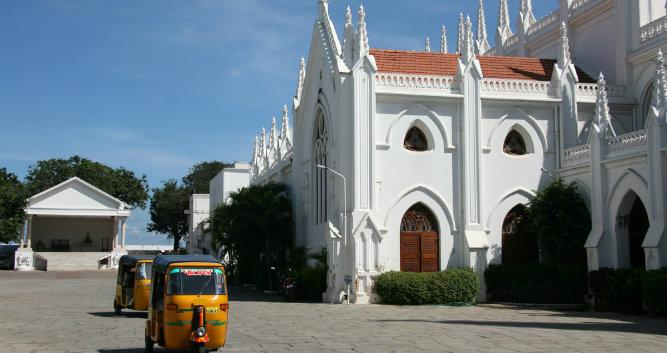 San Thome Basilica cathedral, Chennai, India