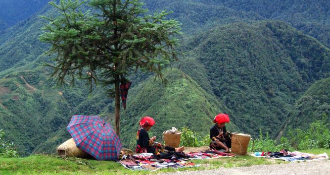 Hilltribe ladies, Sapa, Vietnam