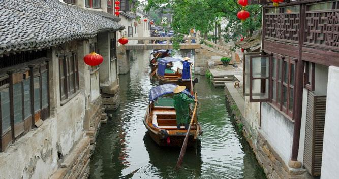 Water Village 3 near Suzhou in Luxury China Travel