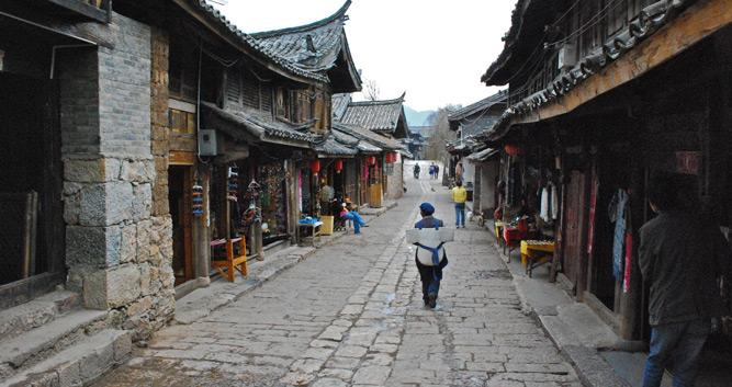 Su He Old Town,  Yunnan, China