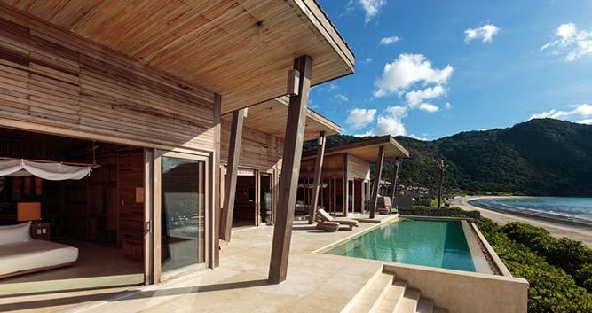 Ocean front villa, Six Senses, Con Dao, Vietnam