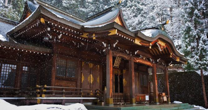 Sakurayama  Hachimangu Shrine, Hida, Takayama - Luxury Japan Tours