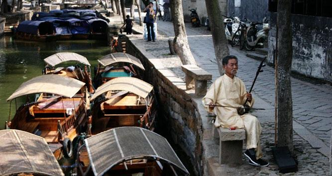 2. Water Village of Tongli, near Shanghai in China Luxury Travel