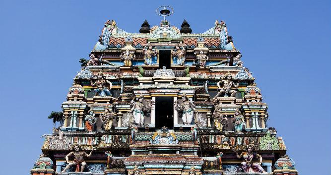 Vishni Temple, Cochin, Kerala, India