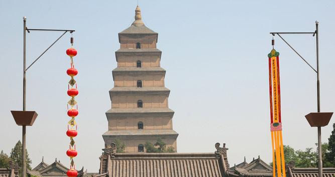 2. Big Wild Goose Pagoda, Xian in Luxury China Travel