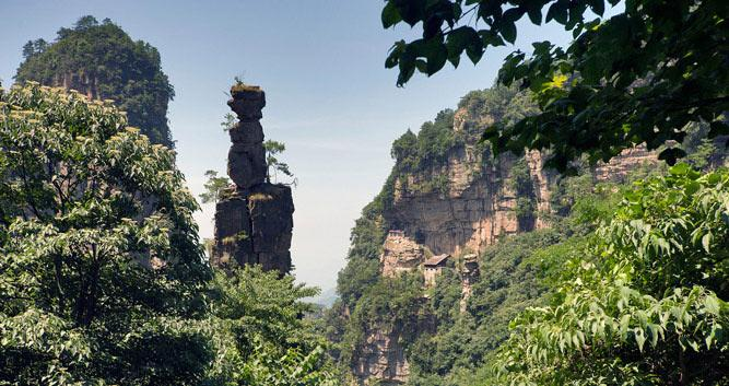Zhangjiajie-National-Forest-Park-in Luxury-Travel-China