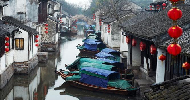 5. Water Village of Tongli, near Shanghai in China Luxury Travel