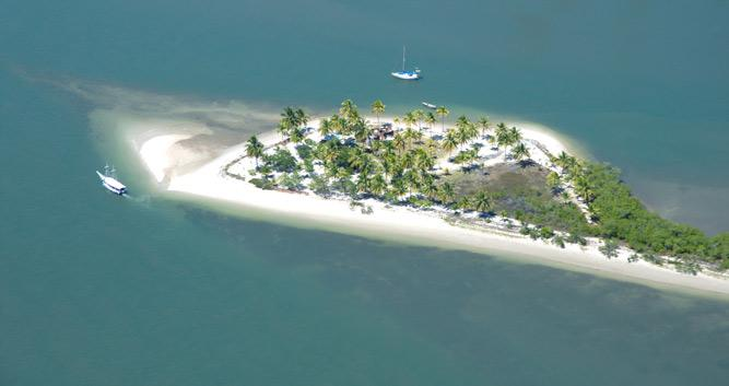 An eagle eye view of the Marau Peninsula, Brazil
