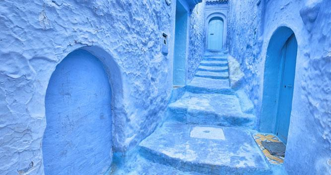 Blue Streets - Chefchauan - Morocco