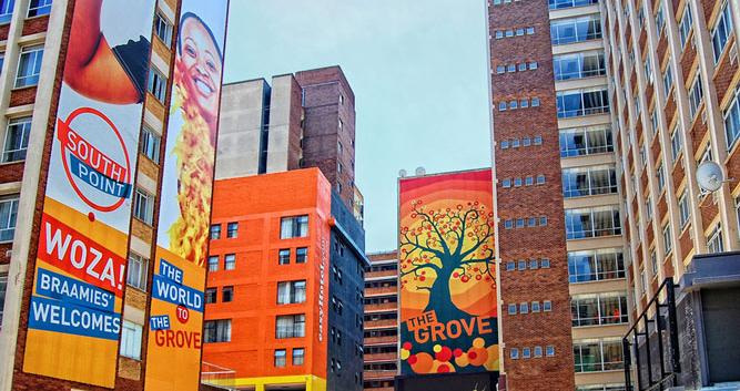 Funky Buildings Johannesburg