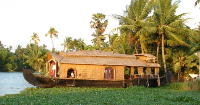 Kerala House boat, southern India