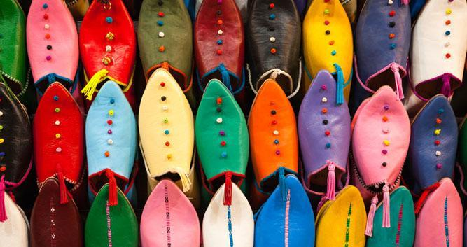 shoes, slippers, Morocco