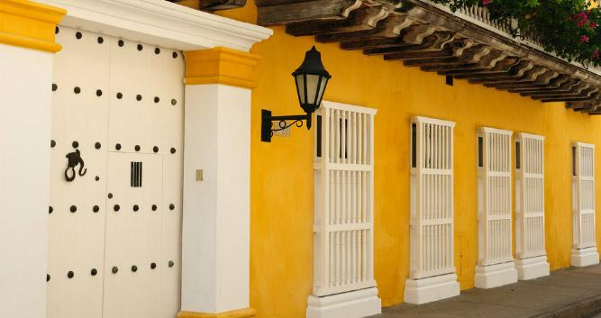 Colonial Doors, Colombia, South America