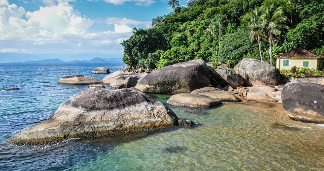 Santa Catarina's tranquil bays, Brazil