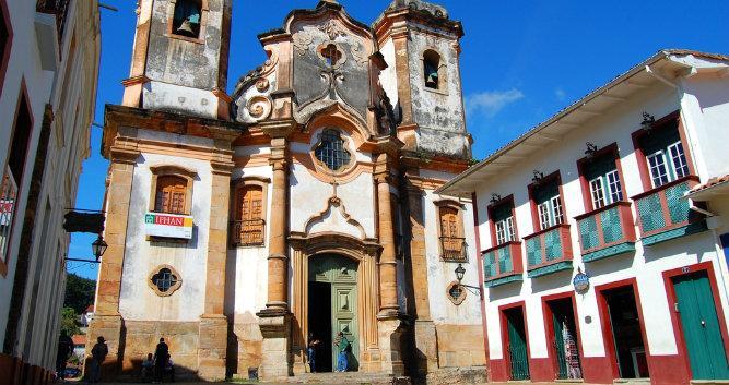 Colonial architecture, Minas Gerais, Brazil