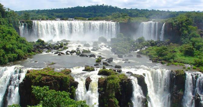 Iguazu fall, Argentina and Brazil, South America