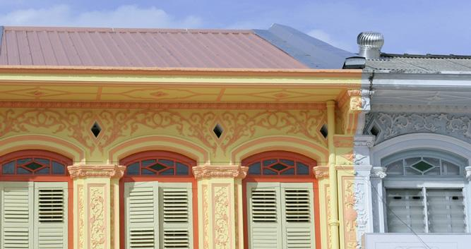 Colonial house, Penang, Malaysia