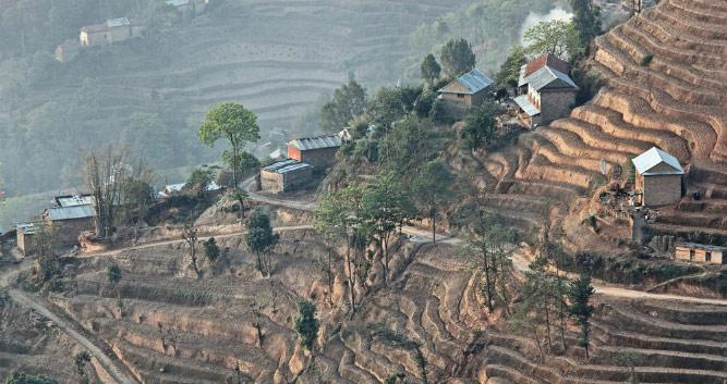 Rice_terraces-Nagarkot-Luxury-Nepal-Holidays