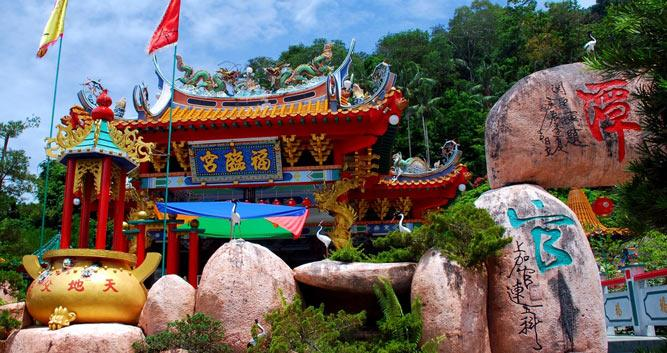 Chinese Temple, Penang, Malaysia