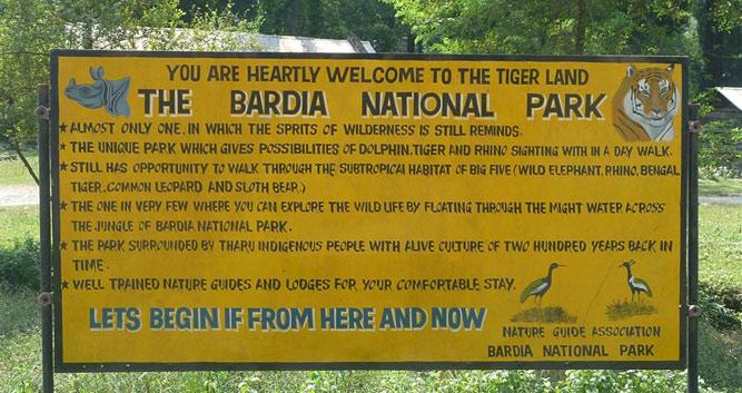 Sign-Bardia-National-Park-Luxury-Nepal-Wildlife-Holidays