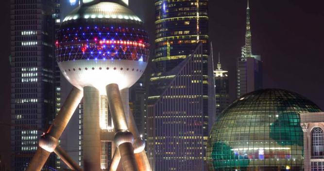Image of Shanghai skyline, Shanghai, China - Luxury China Travel