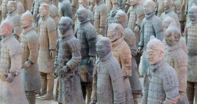 Image of Terracotta Warriors, Xian, - Luxury China Travel