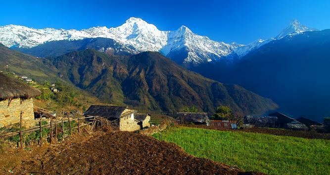 Ghandrung, Annapurna, Nepal