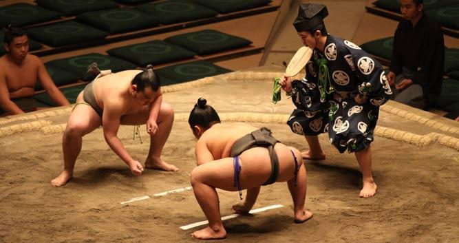Grand Sumo Tournament, Tokyo, Japan