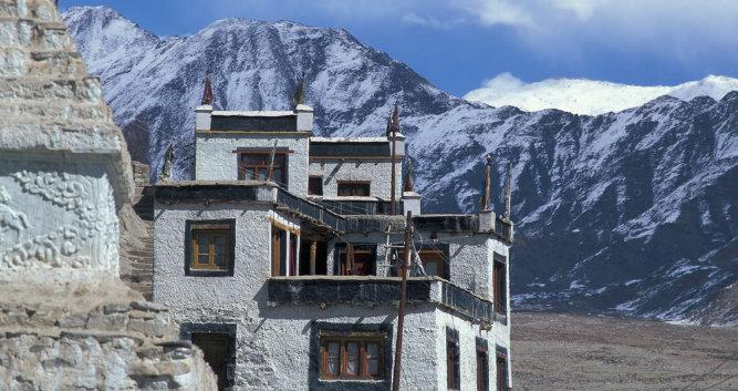 Image of a monastery, Leh, India - Luxury India Travel