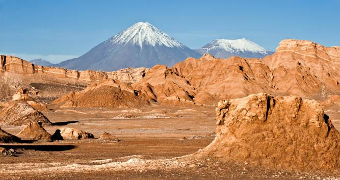 Moon Valley Volcano, Chile, South America
