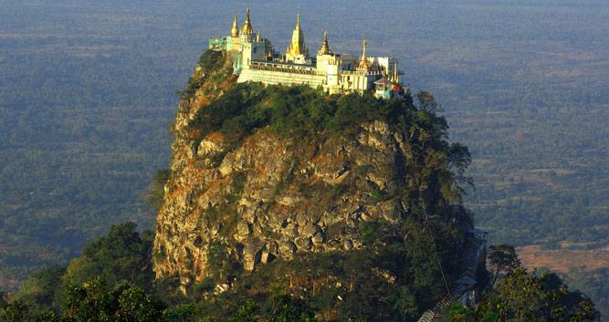 Mt Popa, Burma
