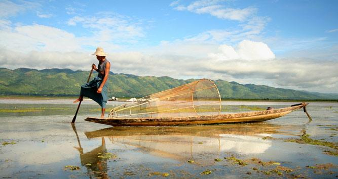 Fisherman, Inle Lake, Burma