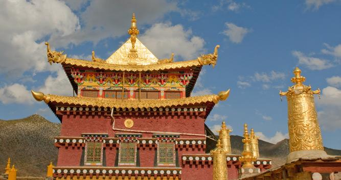 Songzanlin Monastery, Zhongdian, Yunnan, China