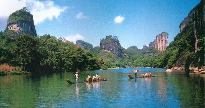 2. Mount Wuyishan, near Xiamen in Luxury China Travel