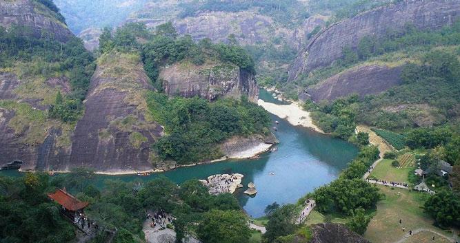 Mount Wuyishan, near Xiamen in Luxury China Travel