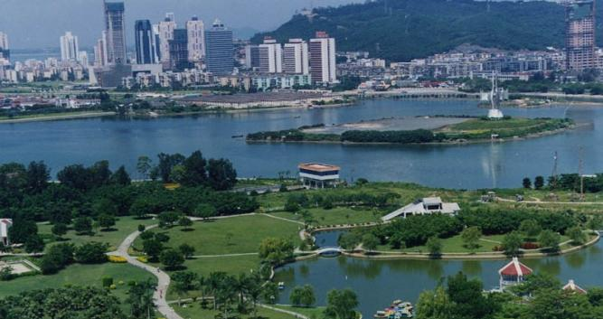 Xiamen Cityscape in China Luxury Travel
